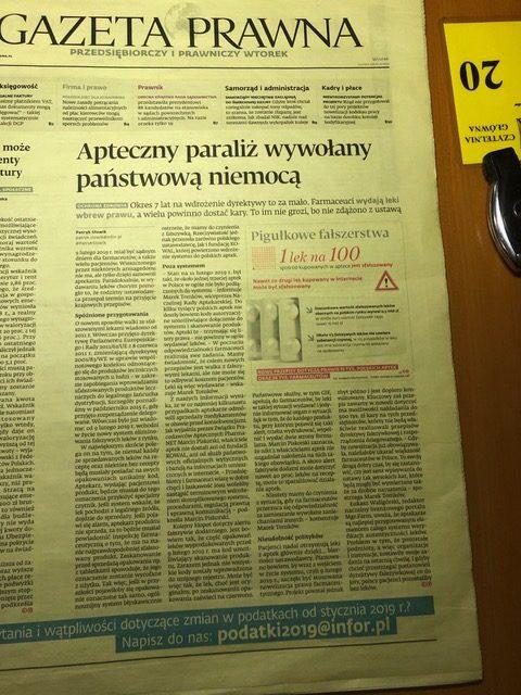 aktualne informacje prawnicze prasa branżowa wiedza adwokata zRzeszowa