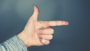 wskazanie zlecenie umowa znak porozumienie palec kierunek prawo
